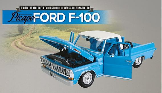 Fascículo Revista Edicao 1,2,3 Ford F-100 Pick Up F100