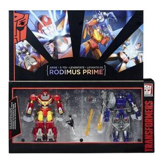 Transformers Generations Edición Platino Levántate Rodimus P