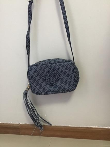 Bolsa Capodarte Azul Sem Uso Pequena