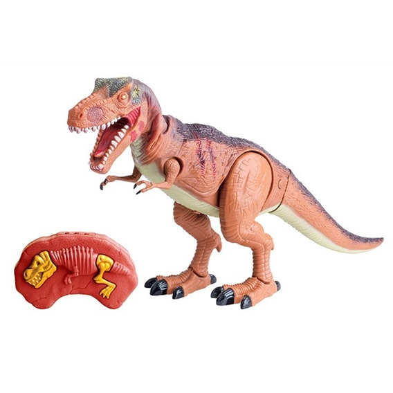 Robo Jurassic Dinossauro Luz Som Movimento Controle Remoto