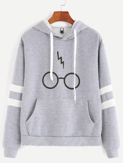 Moletom Blusa De Frio Feminino Harry Potter .