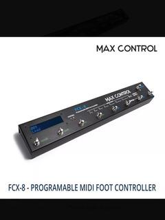 Electrónicomax Control Fcx8 Controlador Switcher Para Pedale