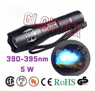 Lampara Uv Cientifica Zoom Ajustable De 395 Nm A 5w