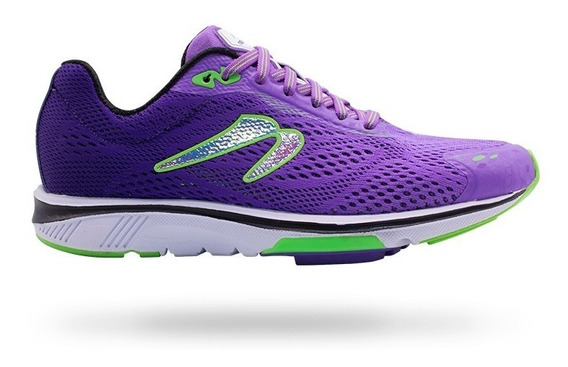 Tenis Correr Newton Running Motion 8 Mujer Violet/lime