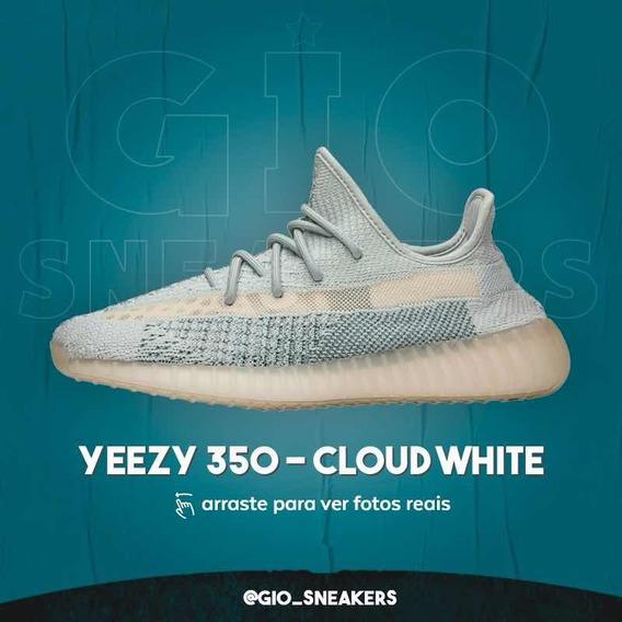 [44] adidas Yeezy 350 - Cloud White