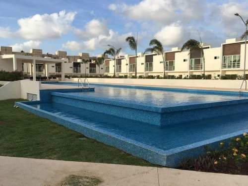Rento Casa Av Huayacan Cancun, Astoria, Cerca Aqua, Cumbres, 3 Recamaras, Alberca