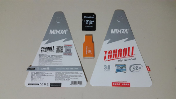 Cartão De Memória Mixza 32gb Classe 10 Tohaoll 80mb/s