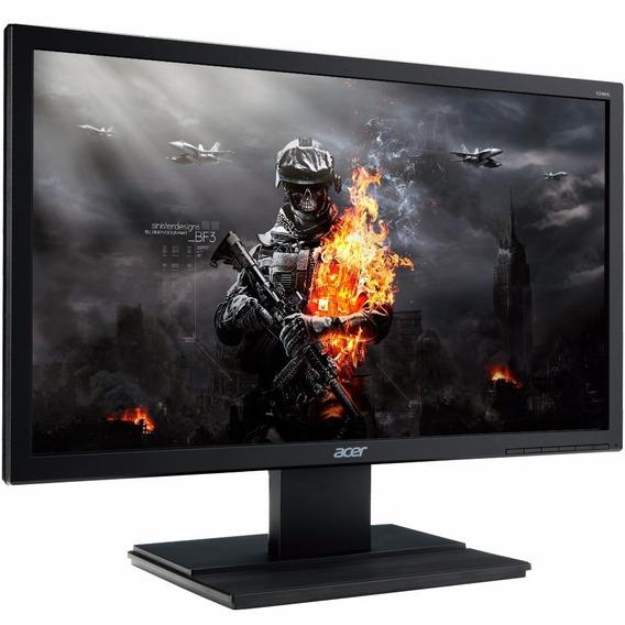 Monitor Acer 24led Fullhdhdmivgadvi 5 Ms Nta Fiscal Garantia