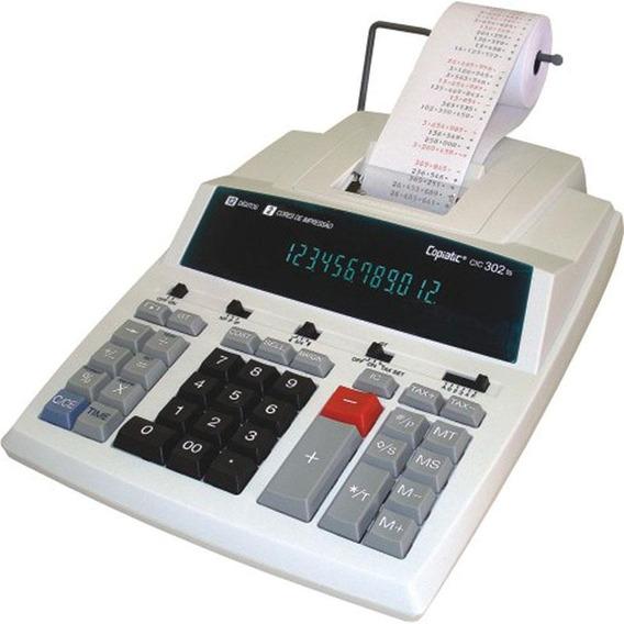 Calculadora De Mesa Copiatic Cic 302 Ts Com Impressora Menno