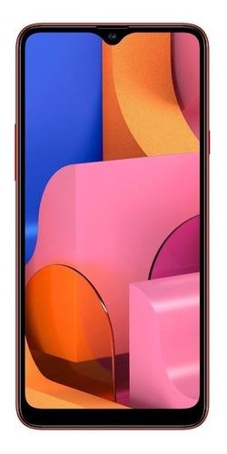 Celular Smartphone Samsung Galaxy A20s A207m 32gb Vermelho - Dual Chip