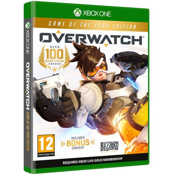 Overwatch Xbox One Midia Fisica Original Lacrado Português