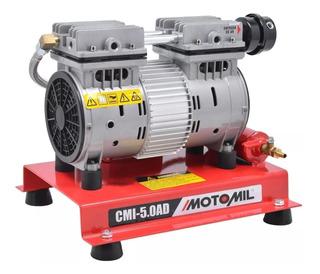 Compressor Ar Direto Sem Óleo 5pcm 220v Cmi5,0 Ad Motomil