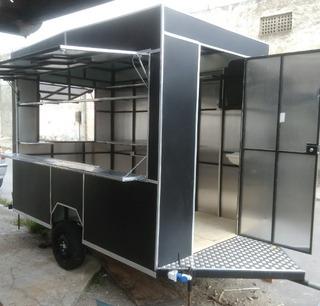 Projeto Trailer Food Truck Lanches + Regulamentação +brindes