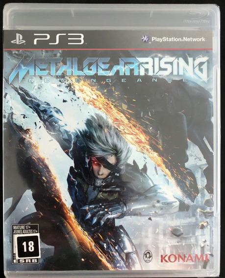 Metal Gear Rising - Ps3 - Midia Física Novo Lacrado