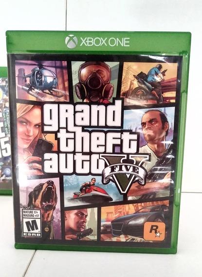 Gta 5 - Xbox One - Pt Br - Gta V - Mídia Física Novo