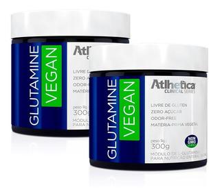 Glutamine Vegan - 2x 300 Gramas - Atlhetica