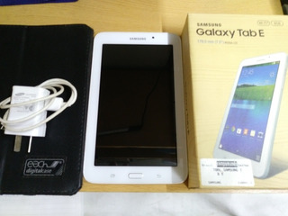 Tablet Samsung Galaxy Tab E 113nu!! Impecable!!!!!!