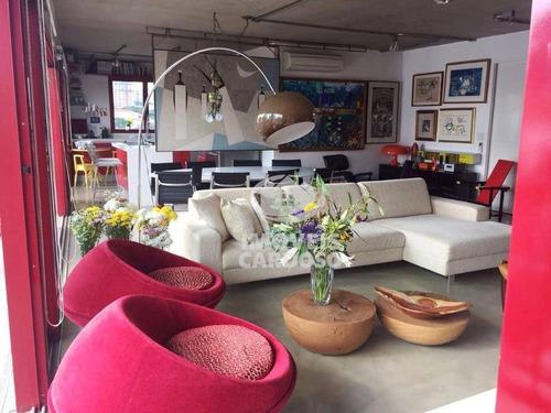 Cobertura Com 2 Dormitórios Para Alugar, 276 M² Por R$ 15.000 - Vila Madalena - São Paulo/sp - Co0017
