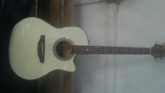 Guitarra Electroacústica Marca Phil De 6 Cuerdas