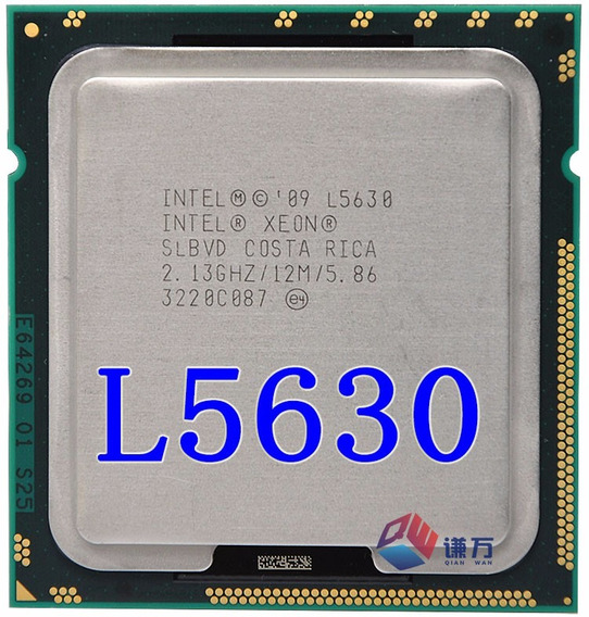 Processador Intel Xeon L5630 4 Nucleos/8 Threads Socket 1366