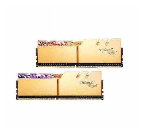 Memoria Gskill Trident Z Royal 16 Gb (2x8 Gb) 3000mhz Gold