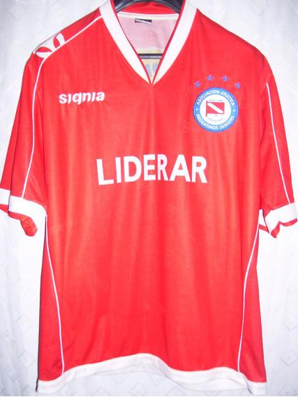 Argentinos Juniors Hermosa Signia 2006 #7 Usada Por Bonvin
