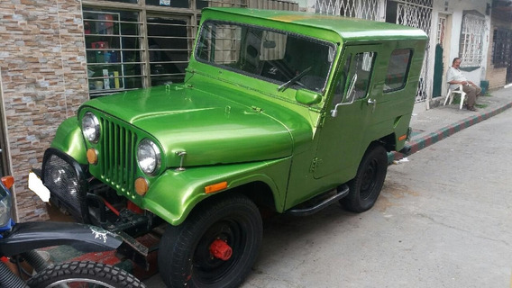 Willys J6 1971 Placas De Cali
