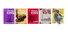 Kit Livros Stephen King Capa Dura - 5 Livros - Lacrados