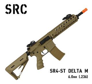 Rifle Airsoft Elétrico Src Sr4-st Delta M Desert 6mm