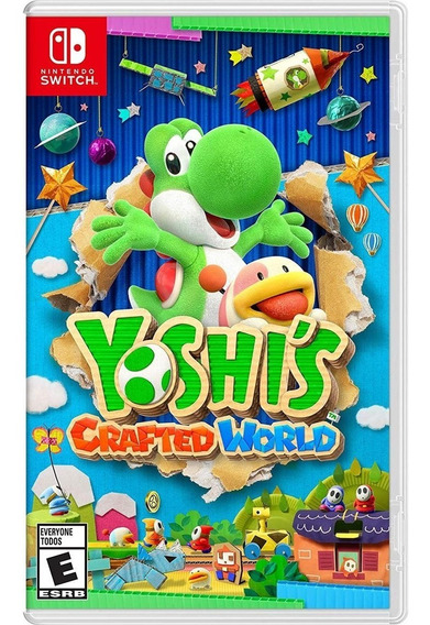 Yoshis Crafted World - Switch Lacrado