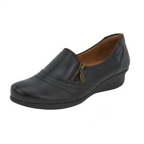 Flats Casuales Confort Para Dama 020478 De Piel Tp19