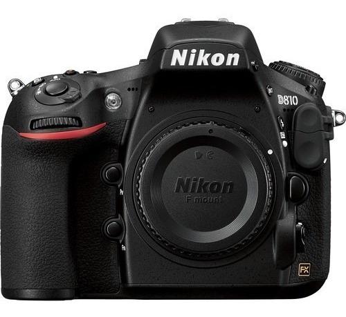 Nikon D810 Dslr Camera, 64gb Sdxc, Grip E Bateria Extra