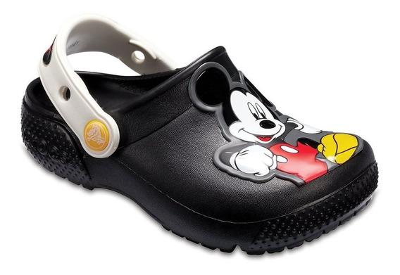 Crocs Originales Fun Lab K Mickey Clog Black 001