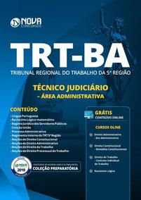 Apostila Trt-ba 2019 - Técnico Judiciário - Administrativa
