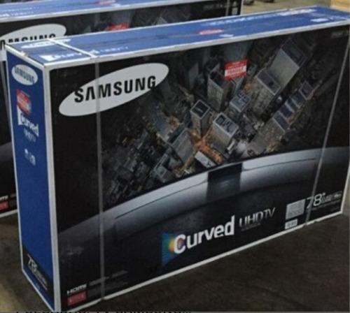 Samsung Smart  Curved 78puLG.