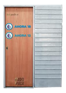 Puerta Corrediza, Embutir De Cedro, Paso 70 Cm Ahora 12/18