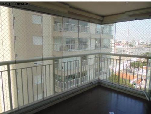 Imagem 1 de 15 de Apartamento Para Locação Em São Paulo, Granja Julieta, 2 Dormitórios, 2 Suítes, 3 Banheiros, 2 Vagas - Zzalfgj22_1-1259468