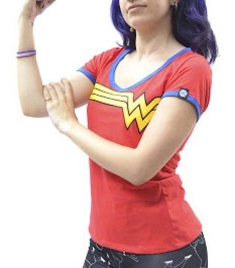 Remera Dc Comics Oficial Wonder Woman