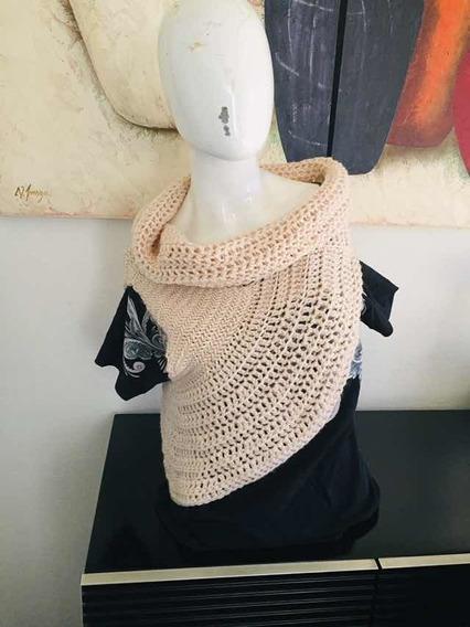 Chaleco Asimétrico Crochet