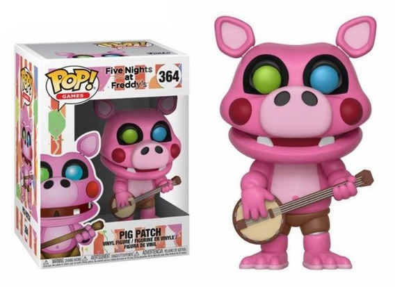 Pig Patch 364 - Games Five Nights At Freddys Pizza Funko Pop
