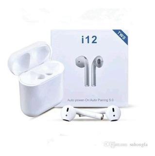Auriculares Bluetooth I12 In Ear Inalambrico Recargable Mini