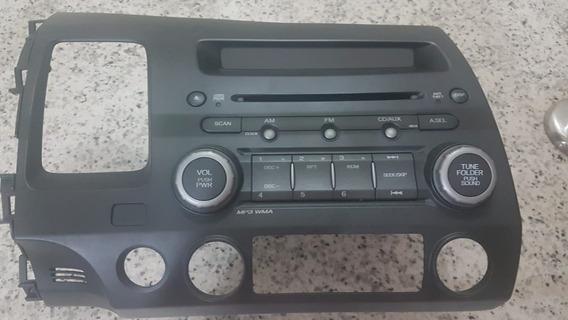Radio/cd - Painel Integrado Honda Civic 2011 Lxl(original)
