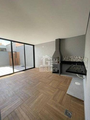 Imagem 1 de 11 de Casa Com 3 Dormitórios À Venda, 160 M² Por R$ 555.000 - Residencial E Comercial Palmares - Ribeirão Preto/sp - Ca2142