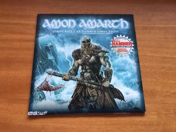 Amon Amarth - First Kill Compacto Vinil 7 Raro - Jomsviking