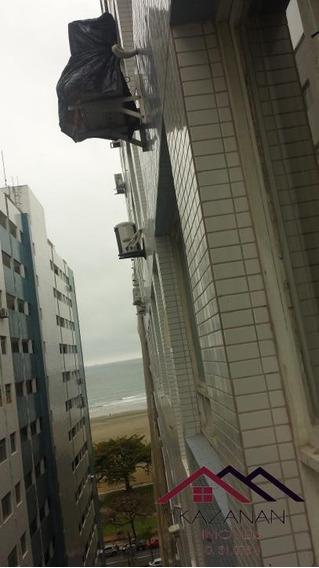 Kitnet No Gonzaga, Mobiliada, Vaga Coletiva, Prédio Frente Praia! - 2092