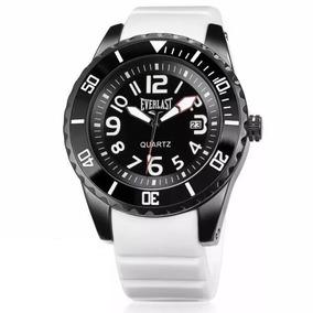 Relógio Masculino Grande Everlast Borracha E511 Analógico