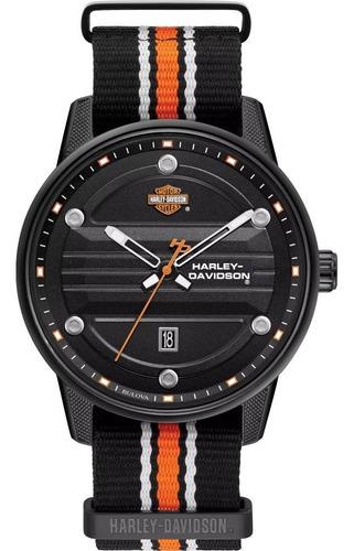 Imagen 1 de 8 de Reloj Harley Davidson B&s Original Caballero