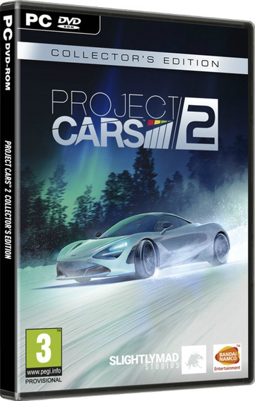 Project Cars 2 Deluxe Edition - Pc Dvd - Frete 8 Reais