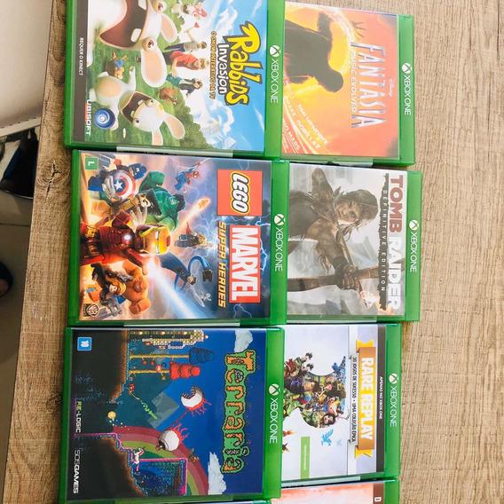 09 Jogos Originais Xbox (venda Somente Todos)