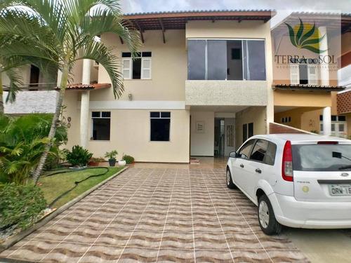 Imagem 1 de 21 de Casa Duplex Com 3 Suítes, Gabinete E Móveis Projetados, Próximo A Av. Rogaciano Leite. - Ca0835